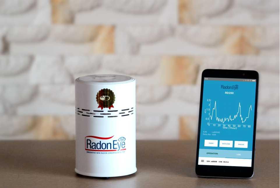 Radon-Eye-Smart-Radon-Detector-Radon-gas-checker-Rn-indoor-Free-shipping-from-Korea